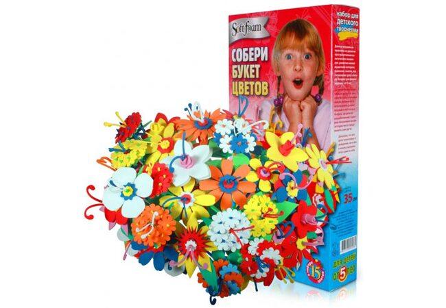 Весенний букет, 15 цветов