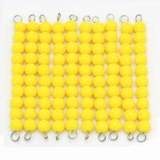 Игра «Цепочка из 100 бусин»