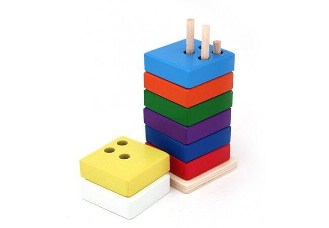 Пирамидка сложная, квадратная
