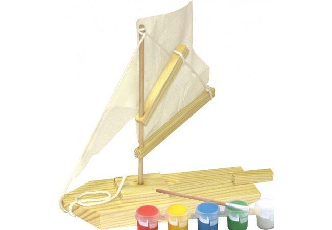 Детское творчество «Лодка»