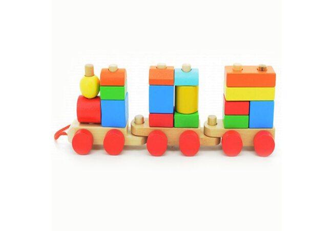 Конструктор «Веселый паровозик»