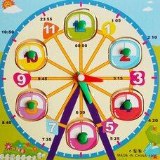 Часы-вкладыши «Каруселька»