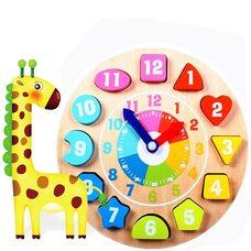 Часы-вкладыши Геометрические фигуры