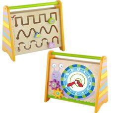 Развивающая игрушка «Часы-лабиринт»