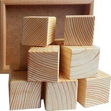 12 кубиков (неокрашенные)