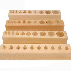Блоки с цилиндрами-вкладышами