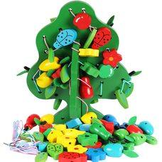 Шнуровка «Мое фруктовое дерево».