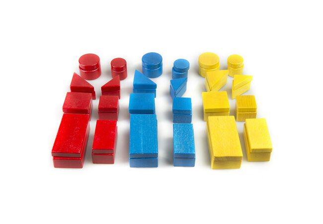 Логические блоки по методике «Дьенеша»