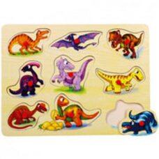 Вкладыши «Динозавры»