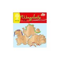 Шнуровка плоская «Динозавры»