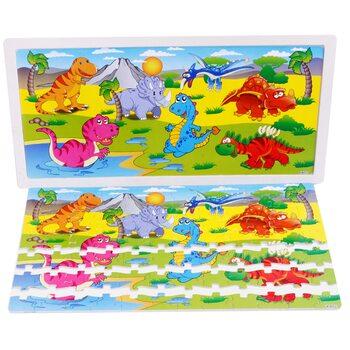 Пазл «Динозавры», 96 дет.