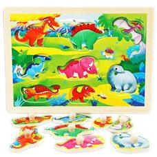 Вкладыши с держателями «Динозавры»