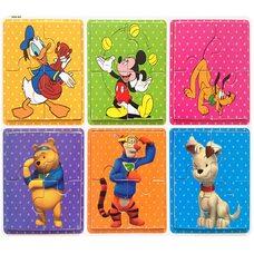 Пазлы «Disney», 4 эл.