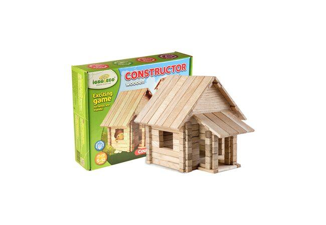 Конструктор «Загородный дом» 4 в 1, 146 дет.