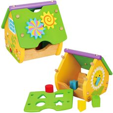 Развивающий домик-конструктор