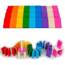 Цветные плашки «Доминошки», 36 шт.