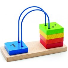 Счеты-лабиринт от 1 до 5
