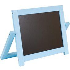 Настольный 2-х сторонний, магнитный мольберт (голубой)