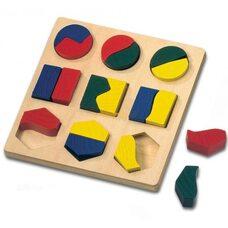 Вкладыши «Геометрические формы» (для малышей)
