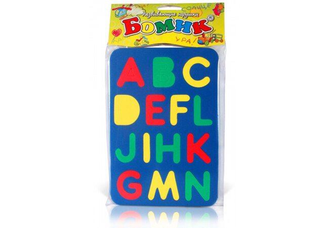 Сортер «Английский алфавит»