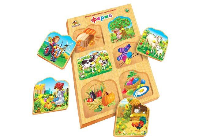 На ферме (для малышей)