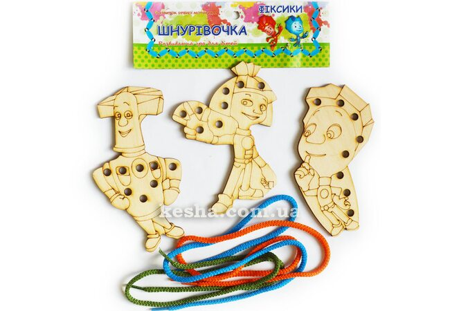 Шнуровка «Фиксики» для малышей