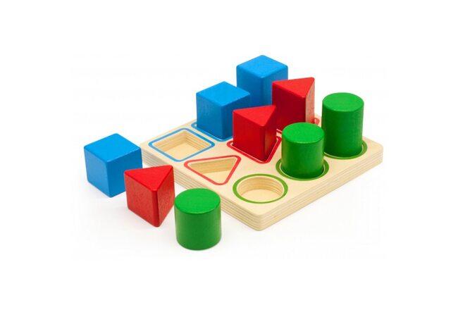 Игра «Форма-цвет-размер»