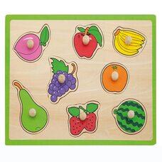 Красочные вкладыши «Фрукты-ягоды»