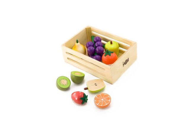 Ящик с фруктами