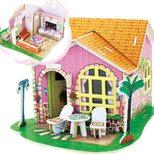 «Гостиная», дом конструктор с мебелью, 82 дет.