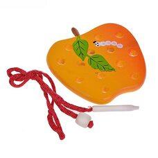 Шнуровка яблоко плоское