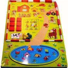 Вкладыши-игра «На ферме»