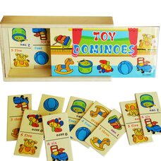 Домино «Мои игрушки»