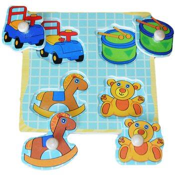 Вкладыши для малышей «Мои игрушки»