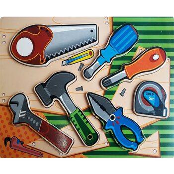 Объемные вкладыши «Набор инструментов»