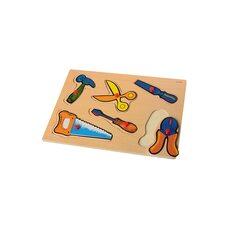 Деревянные вкладыши «Инструменты»