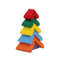 Пирамидка «Цветная елочка»