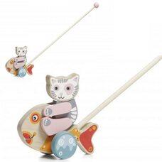 Детская каталка «Рыбка»