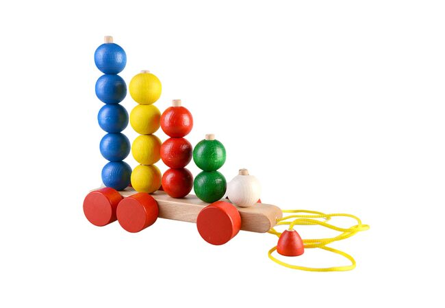 Пирамидки-шарики на колесиках