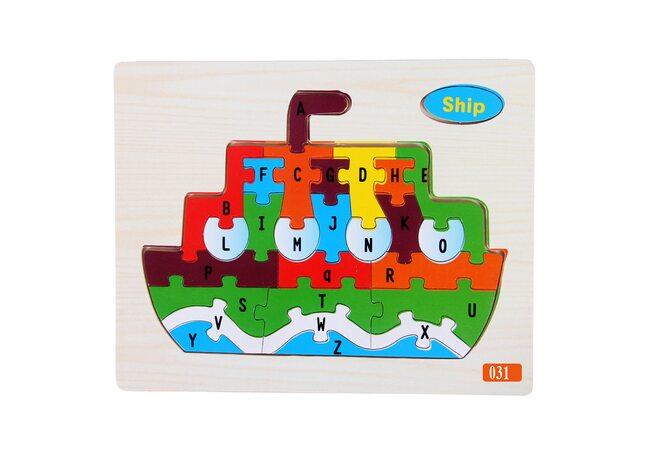 Пазл «Прогулочный кораблик», 26 дет