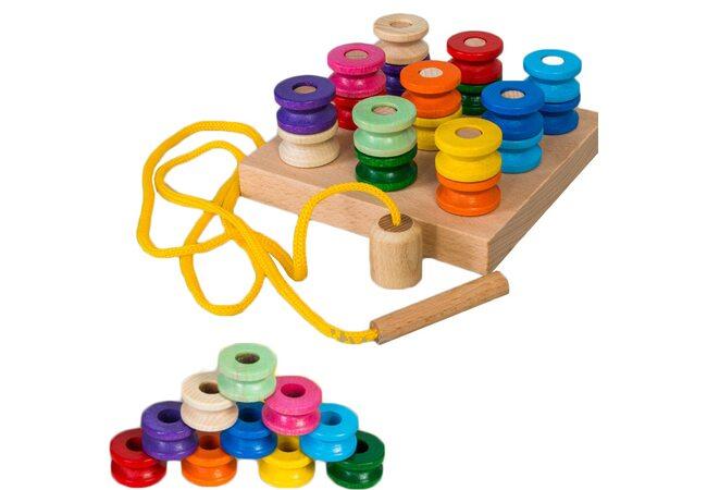 Игра-шнуровка «Катушки»