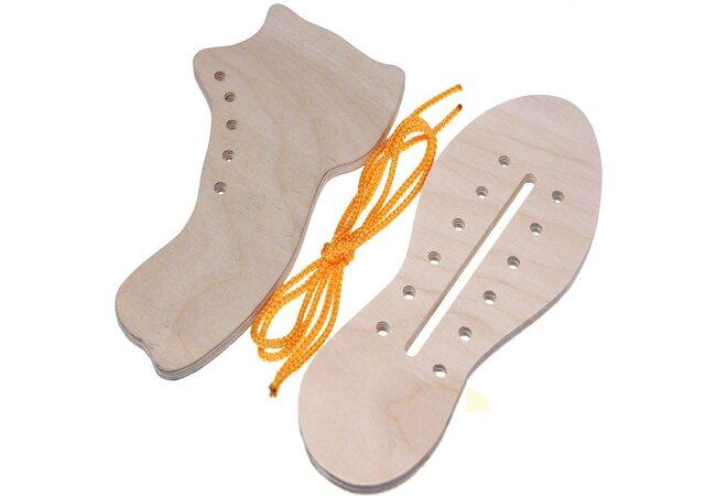 Шнуровка «Ботинок и кед»