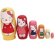 Матрешка «Hello Kitty», 6 в 1