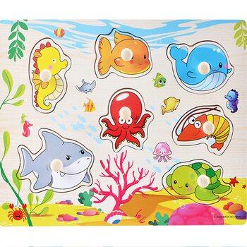 Вкладыши «Морские рыбки»