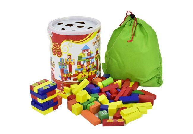 Детский конструктор «Цифры-Буквы», 105 дет.