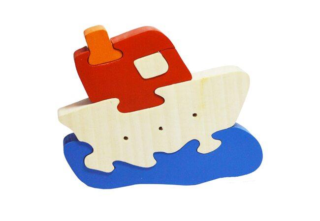 «Кораблик», 3D пазл, 5 дет.