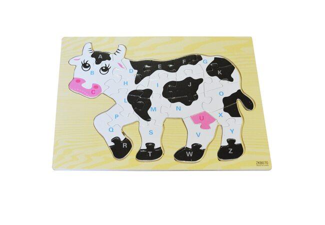 Пазл «Корова»