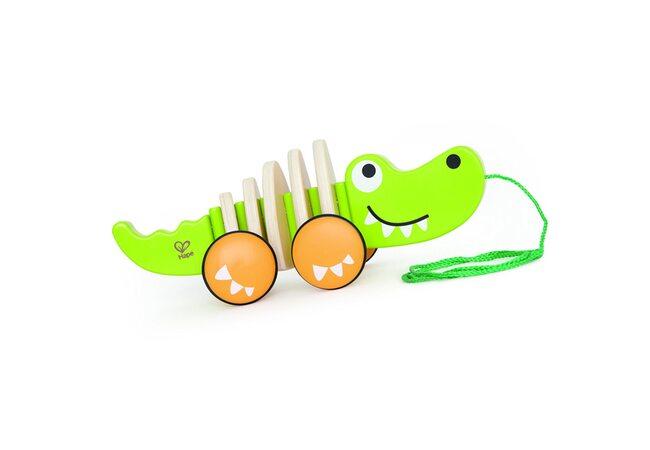 Каталка на ниточке «Крокодил»