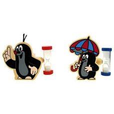 Подставка для зубной щетки с песочными часами «Кротик»
