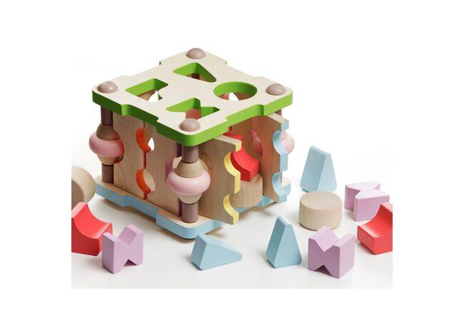 Куб-сортер развивающий